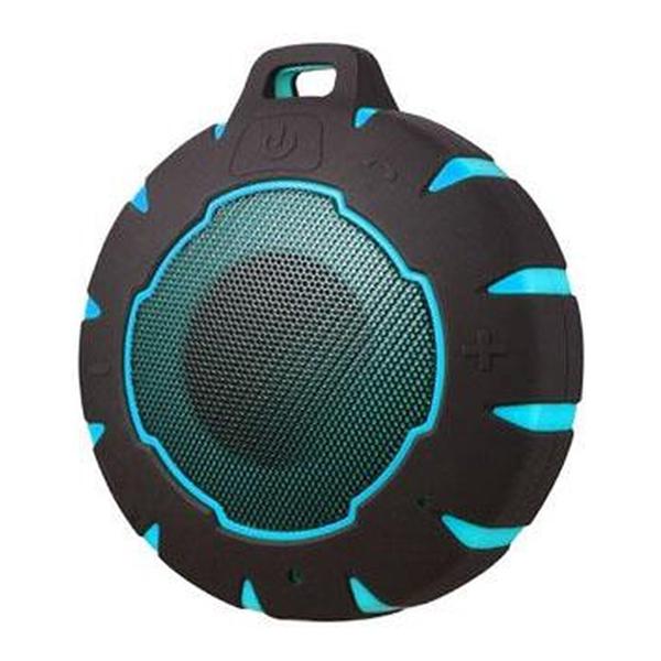 Altavoz Bluetooth Inalámbrico Sunstech SPBTAQUA Waterproof USB 3W Negro Azul