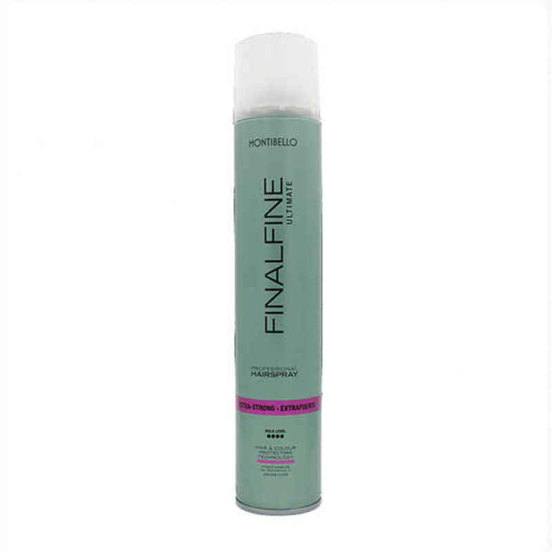 Extra Firm Hold Hairspray Montibello Finalfine Ultimate (500 ml)