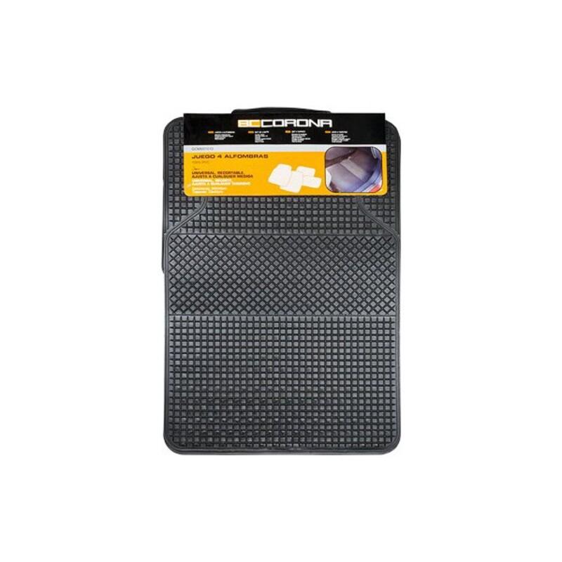 Tapis pour voitures CS6 Universel Noir (4 pcs)
