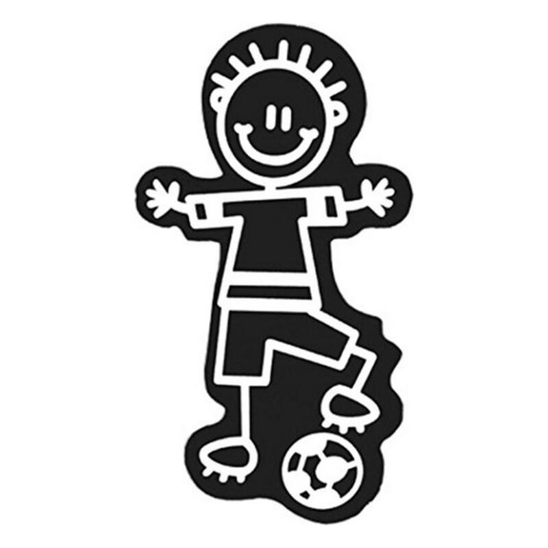 Car Sticker Family Children Football
