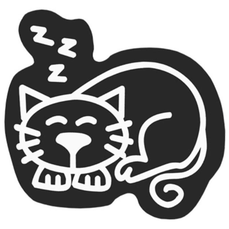 Car Sticker Family Cat