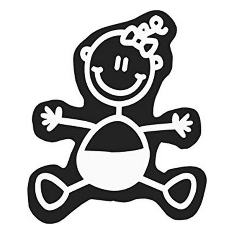 Car Sticker Family Baby Girl