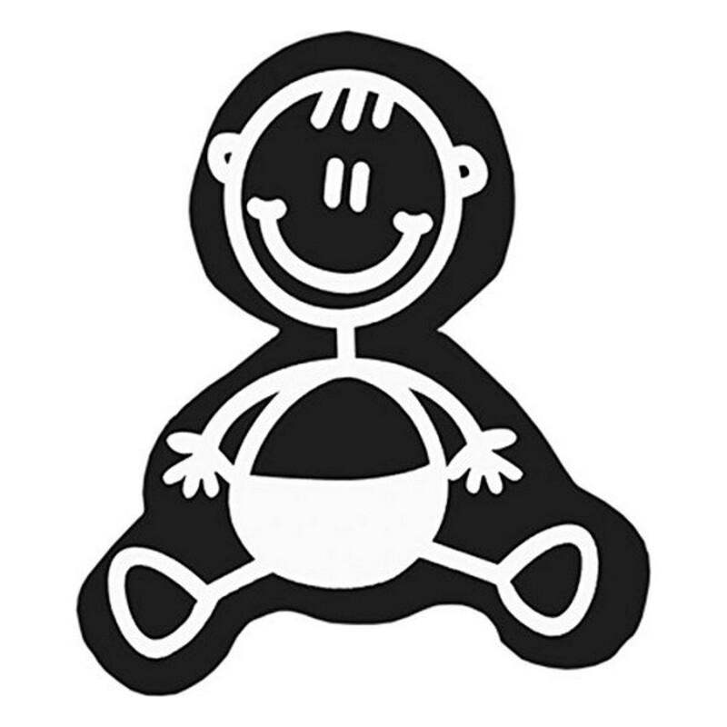 Car Sticker Family Baby Children