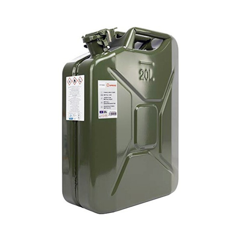 Bottle MOTOR16514 Green Metal (20L)