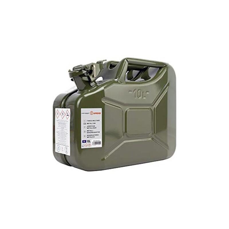 Bottle MOTOR16515 Green Metal (10 L)