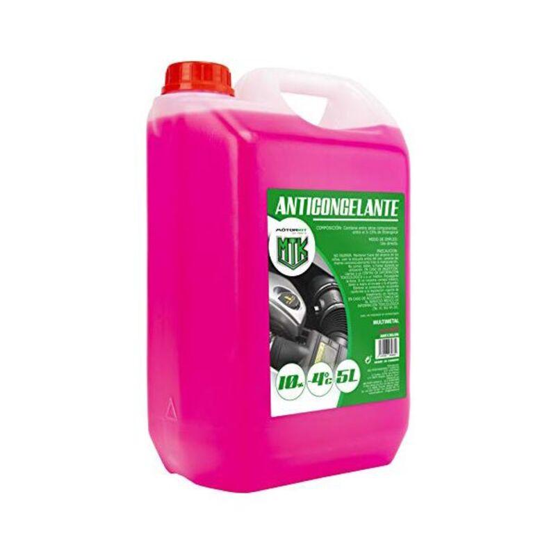 Antifreeze Motorkit MOT3535 -4º 10% Pink (5 L)