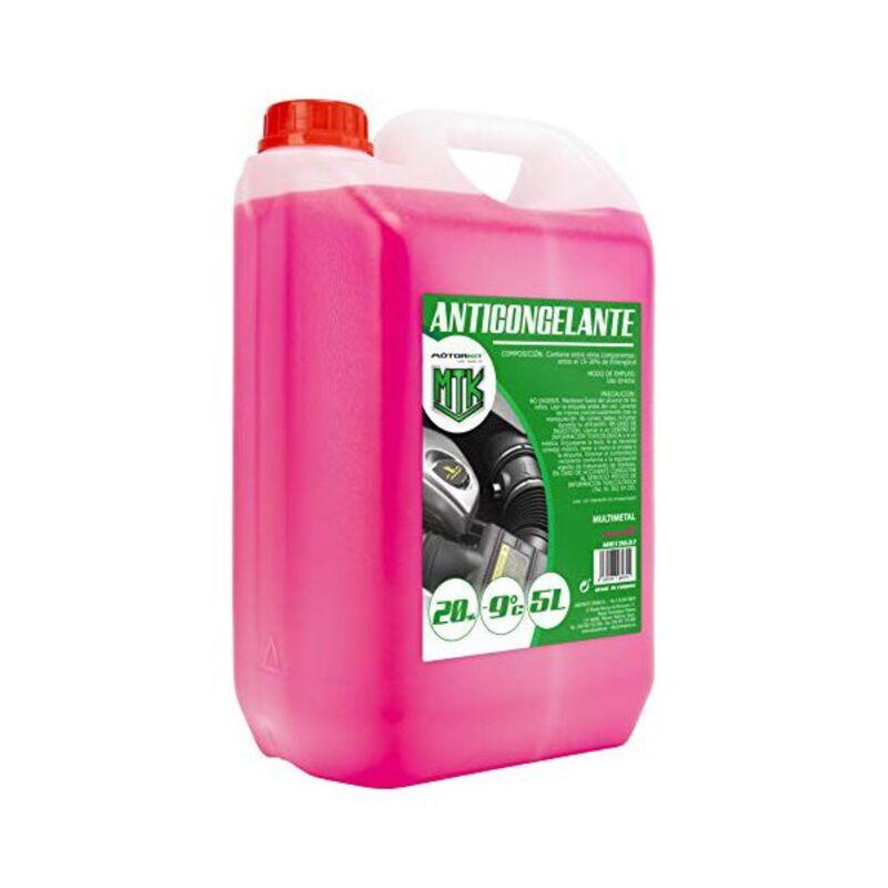 Antifreeze Motorkit MOT3537 -9º 20% Pink (5 L)