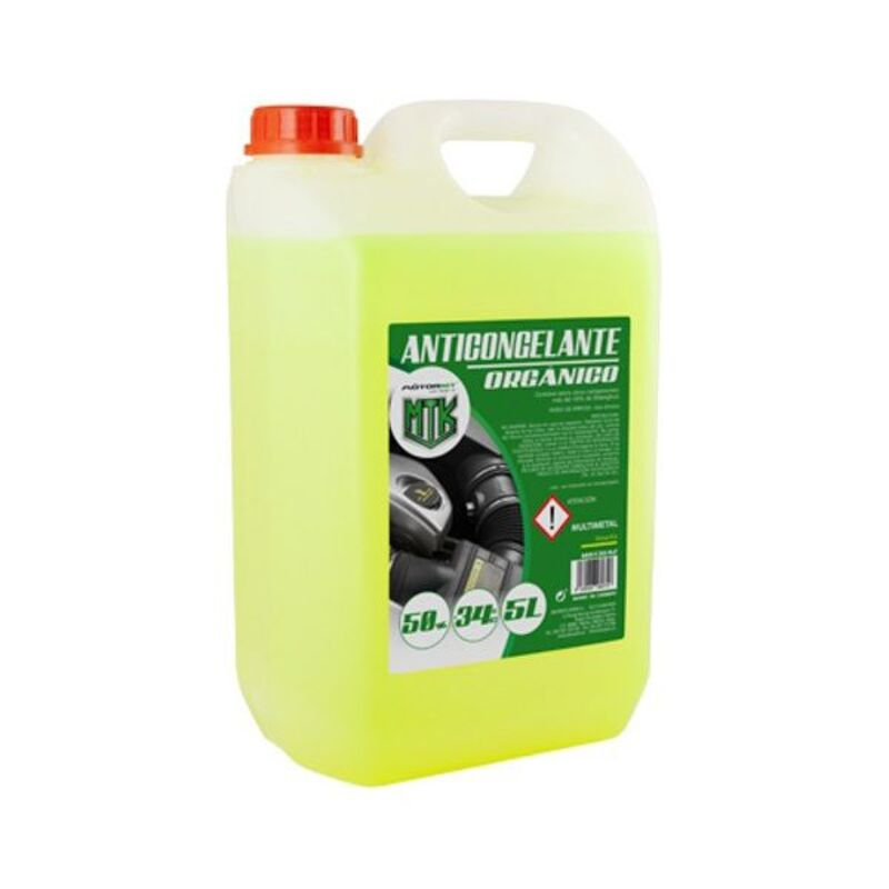 Antifreeze Motorkit MOT3542 50% Yellow (5 L)
