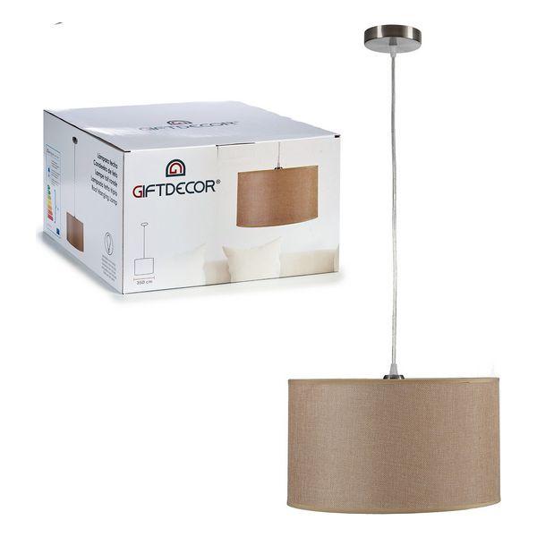 Ceiling Light Beige (35 x 20,5 x 35 cm)