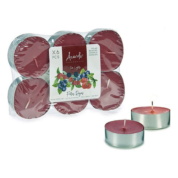 Candles Maxi Tea Light Red Berries (6 pcs)