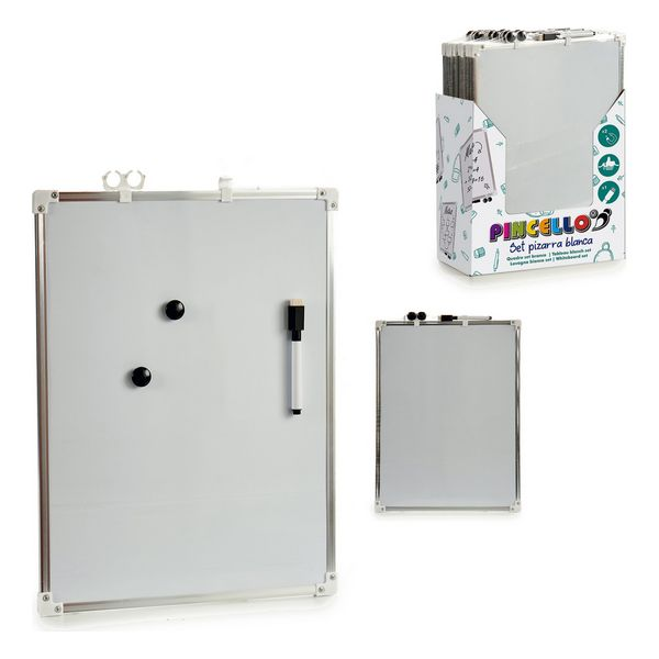 Whiteboard Magnetic Metal Plastic (30 x 40 cm)