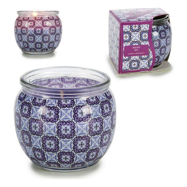Candle Magic Spa Purple (7,6 x 6,5 x 7,6 cm)