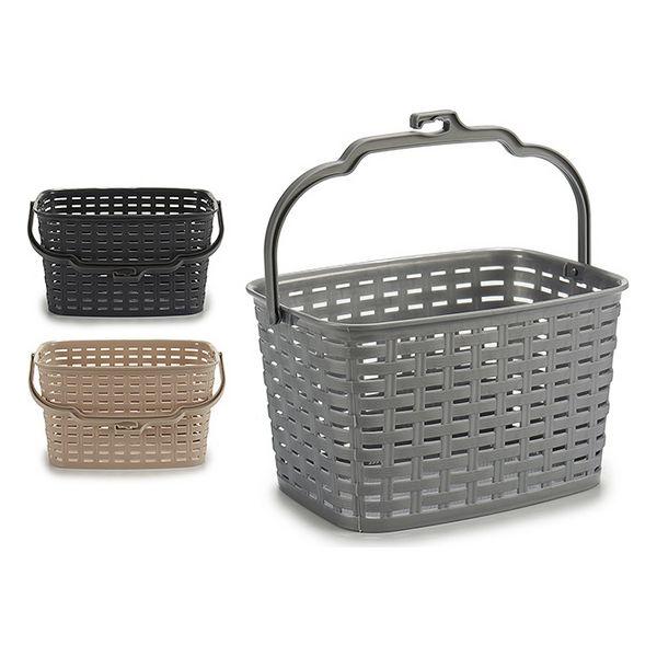 Basket Plastic Clamps (15,5 x 12,8 x 23,5 cm)