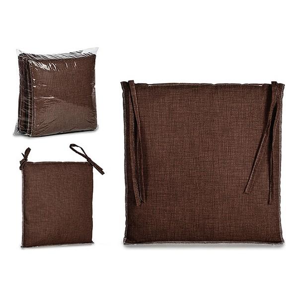Chair cushion Cloth Chocolate