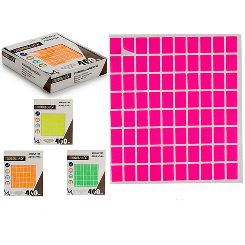 Labels Self-adhesives Rectangular (12 x 18 mm) (400 uds)
