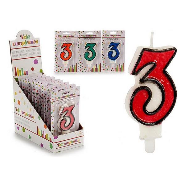 Candle 3 Birthday