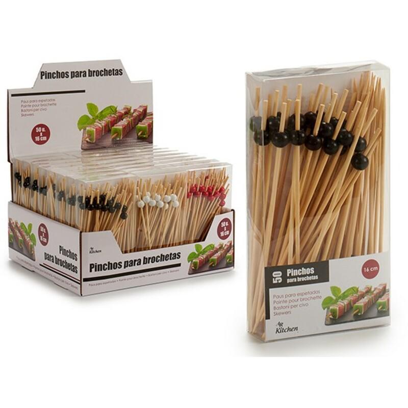 Appetizer Set Bamboo (9,5 x 17,5 x 3 cm) 50 pcs