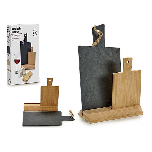 Appetizer Set Board (10 x 31 x 21 cm) (2 pcs)