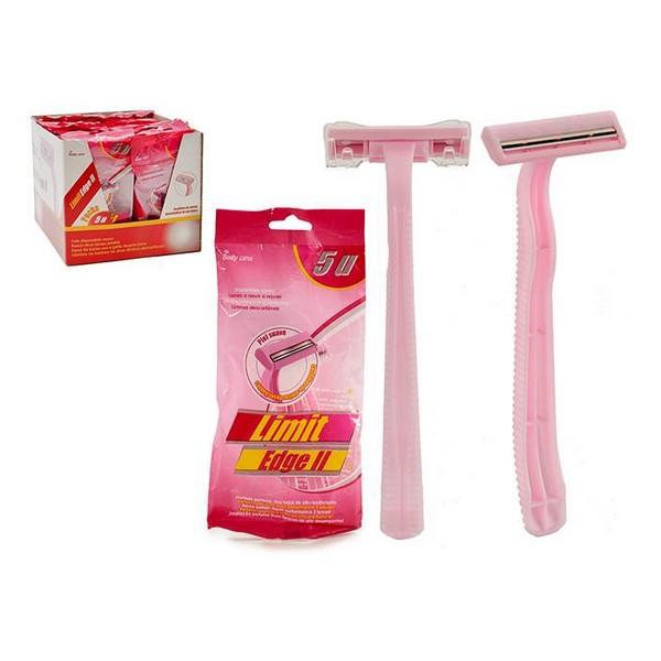 Maquinillas de Afeitar Desechables 5 Piezas