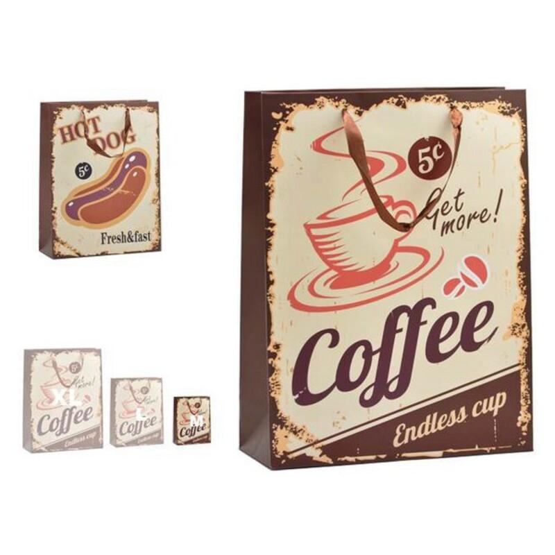 Bag Hot Dog & Coffee Plastic Small (8,5 x 24 x 18 cm)