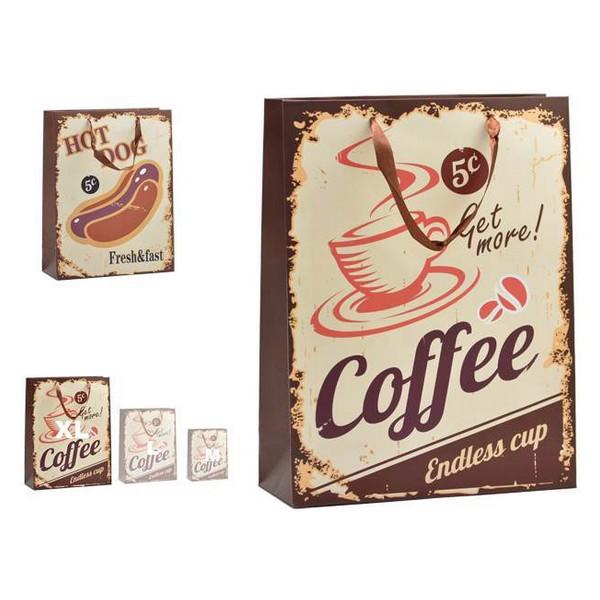 Bag Hot Dog & Coffee Plastic Large (12 x 43 x 30 cm)