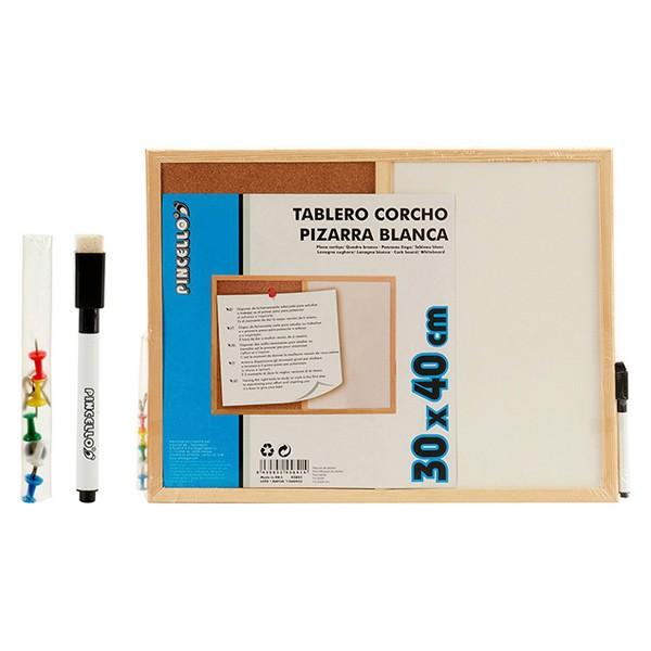 Board Cork White Board (1 x 30 x 42 cm)