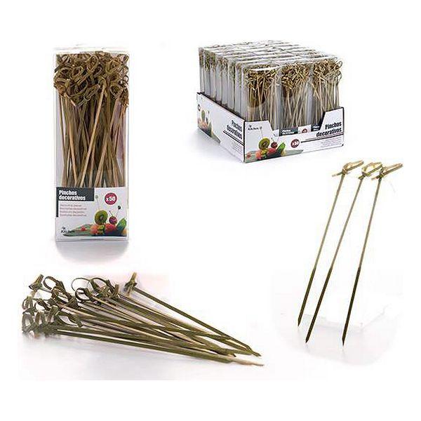 Barbecue Skewer Set Bamboo (50 uds)