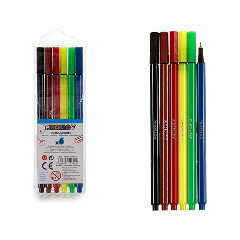 felt-tip pens Pincello (6 pcs)