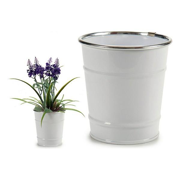 Bucket White (10 x 10 x 10 cm)