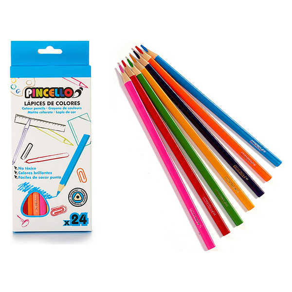 Colouring pencils (24 pcs)