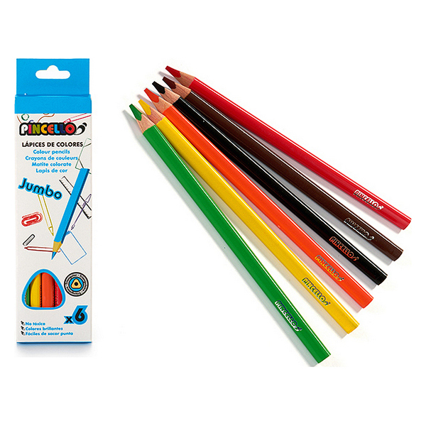 Colouring pencils (6 pcs)