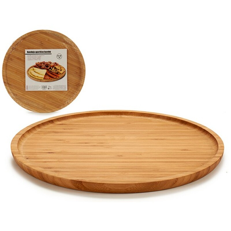 Snack tray (30 x 1,5 x 30 cm) Bamboo