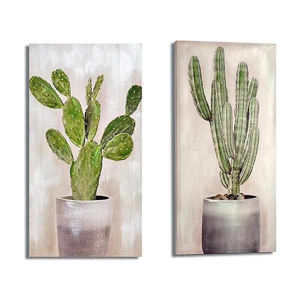 Canvas Cactus (3 x 50 x 100 cm)