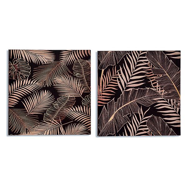 Canvas Black Canvas Sheets (1,5 x 40 x 40 cm)