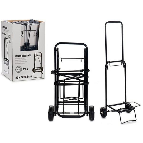 Multi-purpose Cart Black (29 x 84 x 25 cm)