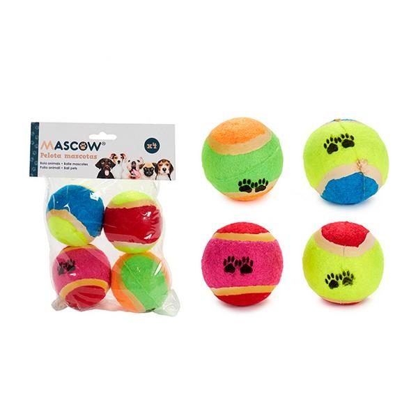 Balls (6 x 6 x 6 cm) (4 Pieces)