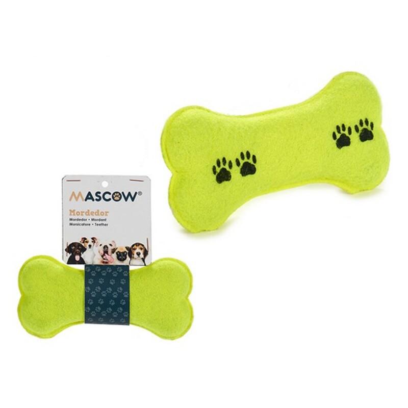 Dog Toy Green Bone (7 x 7,5 x 16 cm)