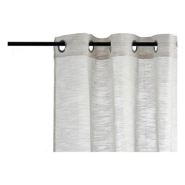Curtain Beige Polyester (140 x 260 cm)