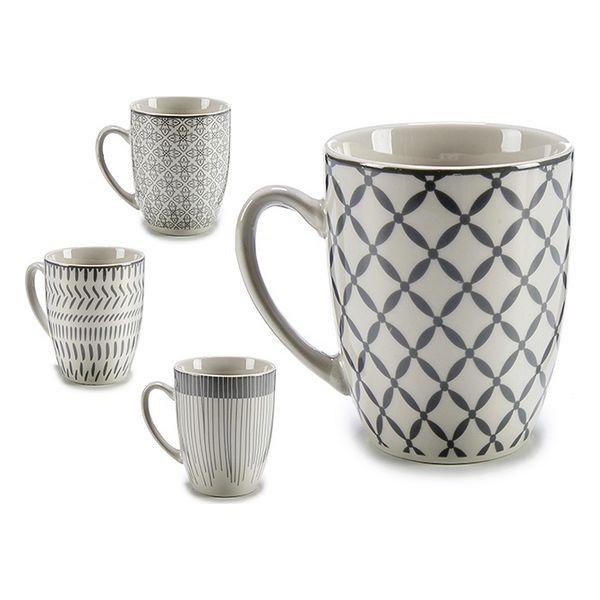 Cup Grey Porcelain (8,5 x 10,5 x 11,5 cm)
