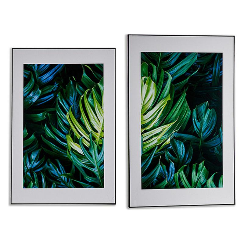 Canvas Black Wood Canvas Sheets (3 x 121,5 x 81,5 cm)