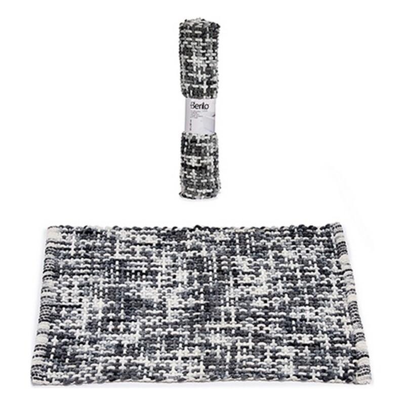 Bath rug Dark Grey (50 x 80 cm)