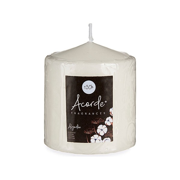 Candle Cotton White (7 x 8 x 7 cm)