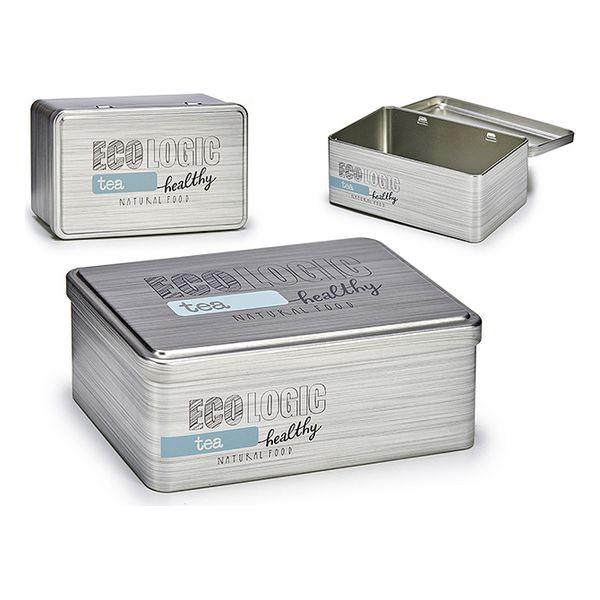 Box Tea Tin (11,5 x 7 x 18,5 cm)