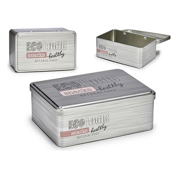 Box Snacks Tin (11,5 x 7 x 18,5 cm)