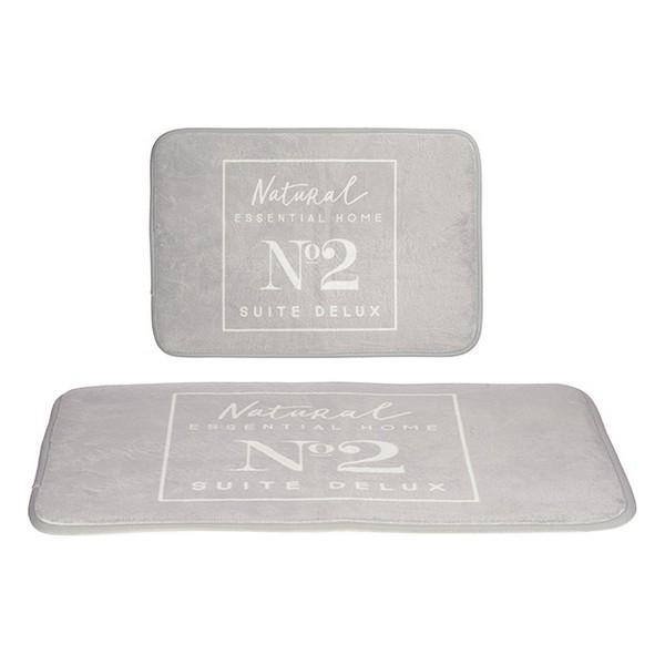 Bath rug Grey (40 x 60 cm)