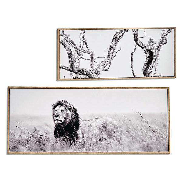 Canvas Beech (2 x 21,5 x 51,5 cm)