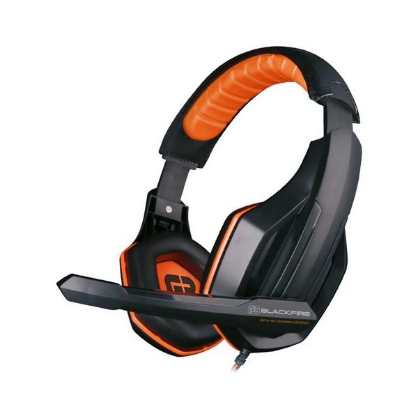 Slušalke z Mikrofonom Gaming Ardistel BLACKFIRE BFX-10 PS4 Črna Oranžna