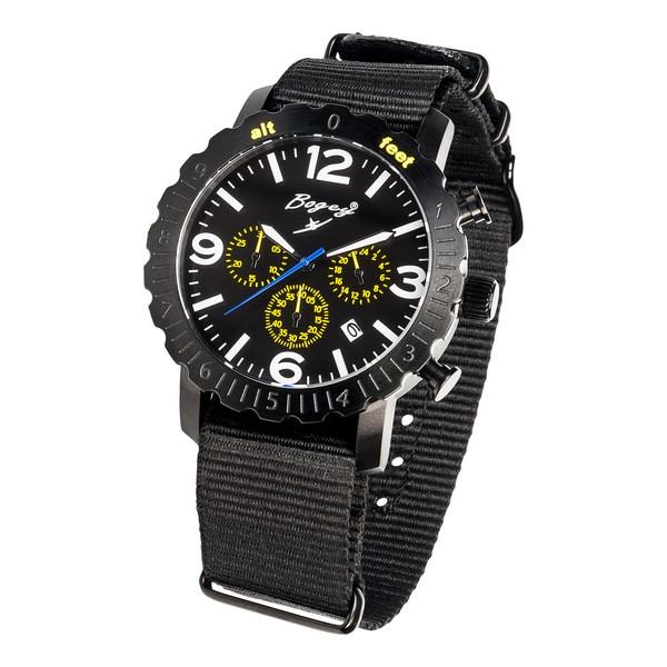 Reloj Hombre Bogey BSFS004YLBK (44 mm)