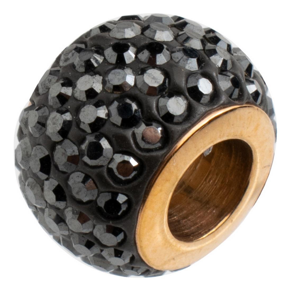 Beads Folli Follie 3P16 FRONE Black (1 cm)