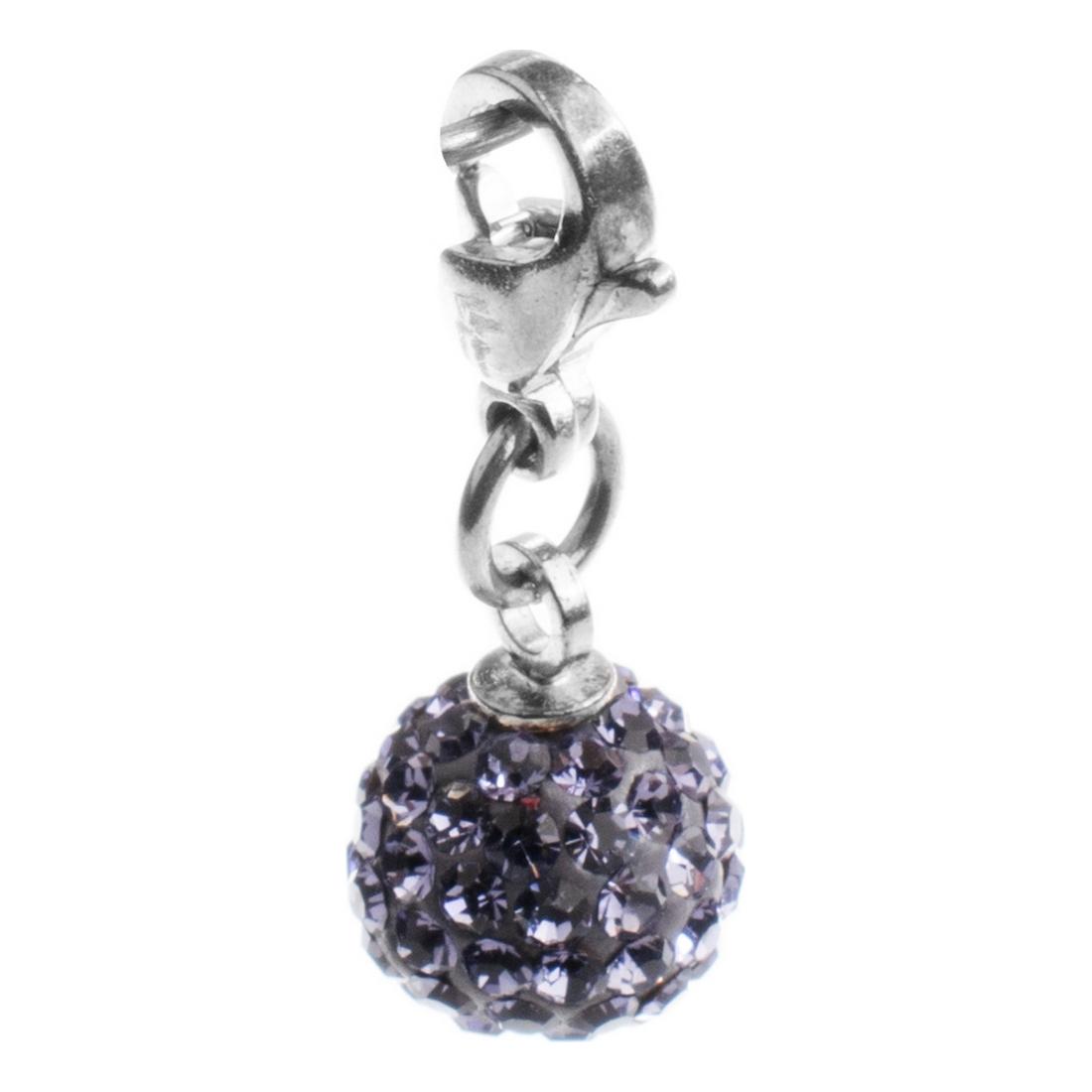 Beads Folli Follie 3P16 FAMOR Purple (2 cm)